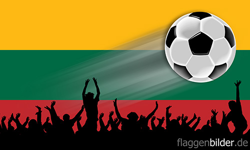 litauen_fussball-fans.jpg von 123gif.de Download & Grußkartenversand