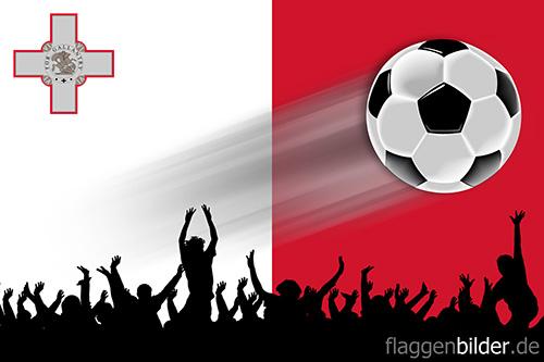 malta_fussball-fans.jpg von 123gif.de Download & Grußkartenversand
