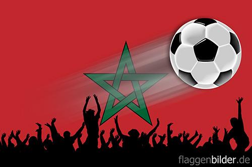 marokko_fussball-fans.jpg von 123gif.de Download & Grußkartenversand