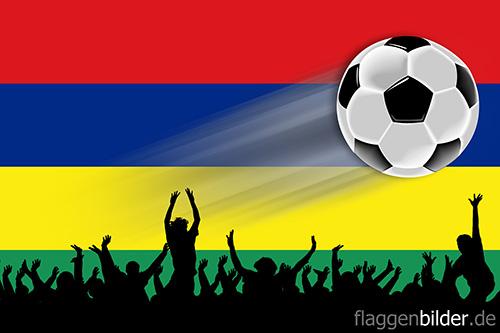 mauritius_fussball-fans.jpg von 123gif.de Download & Grußkartenversand