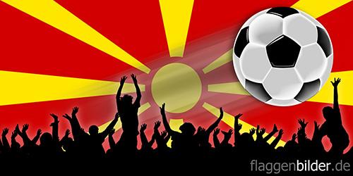 mazedonien_fussball-fans.jpg von 123gif.de Download & Grußkartenversand