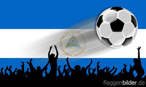 nicaragua_fussball-fans.jpg von 123gif.de Download & Grußkartenversand