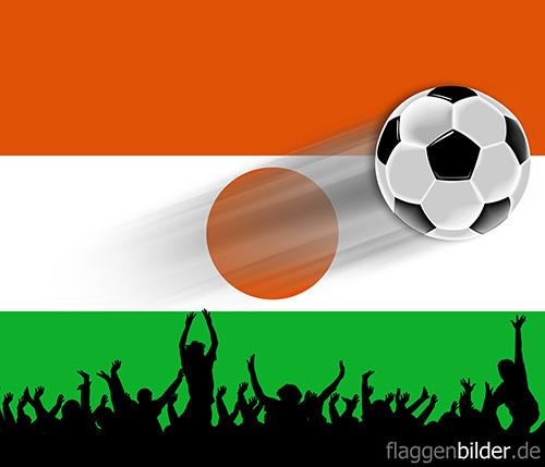 niger_fussball-fans.jpg von 123gif.de Download & Grußkartenversand