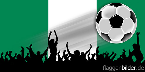 nigeria_fussball-fans.jpg von 123gif.de Download & Grußkartenversand