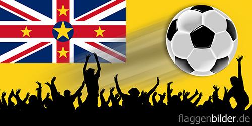 niue_fussball-fans.jpg von 123gif.de Download & Grußkartenversand