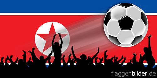 nordkorea_fussball-fans.jpg von 123gif.de Download & Grußkartenversand