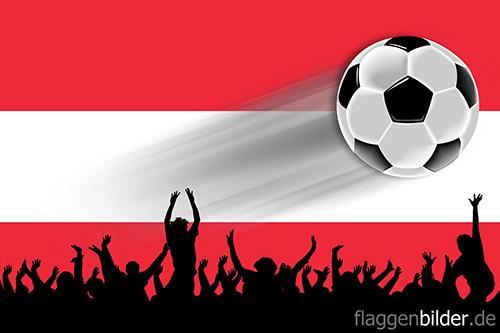 oesterreich_fussball-fans.jpg von 123gif.de Download & Grußkartenversand