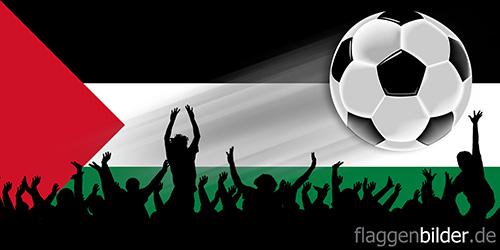 palaestina_fussball-fans.jpg von 123gif.de Download & Grußkartenversand