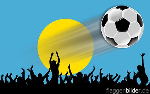 palau_fussball-fans.jpg von 123gif.de Download & Grußkartenversand