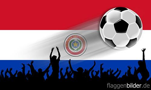 paraguay_fussball-fans.jpg von 123gif.de Download & Grußkartenversand