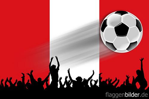 peru_fussball-fans.jpg von 123gif.de Download & Grußkartenversand