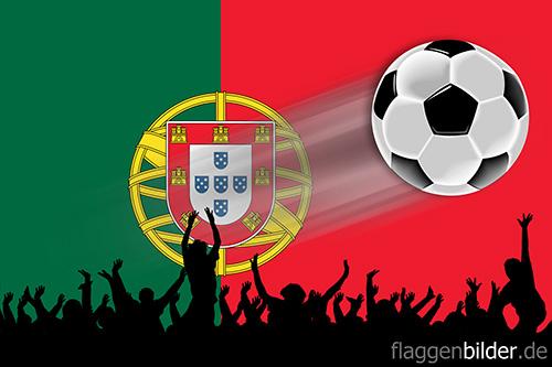 portugal_fussball-fans.jpg von 123gif.de Download & Grußkartenversand