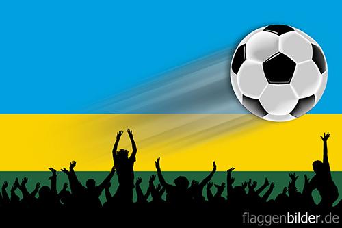 ruanda_fussball-fans.jpg von 123gif.de Download & Grußkartenversand