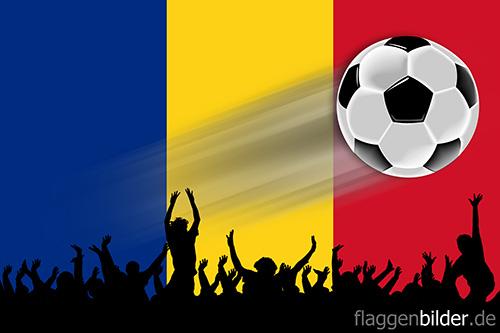 rumaenien_fussball-fans.jpg von 123gif.de Download & Grußkartenversand