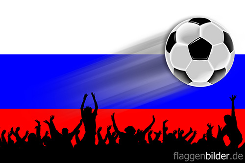 russland_fussball-fans.jpg von 123gif.de Download & Grußkartenversand