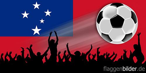 samoa_fussball-fans.jpg von 123gif.de Download & Grußkartenversand