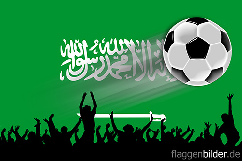 saudi-arabien_fussball-fans.jpg von 123gif.de Download & Grußkartenversand
