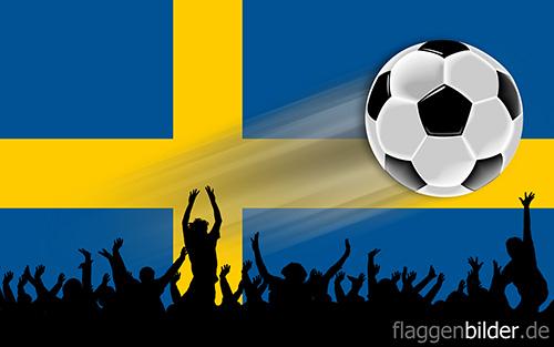 schweden_fussball-fans.jpg von 123gif.de Download & Grußkartenversand