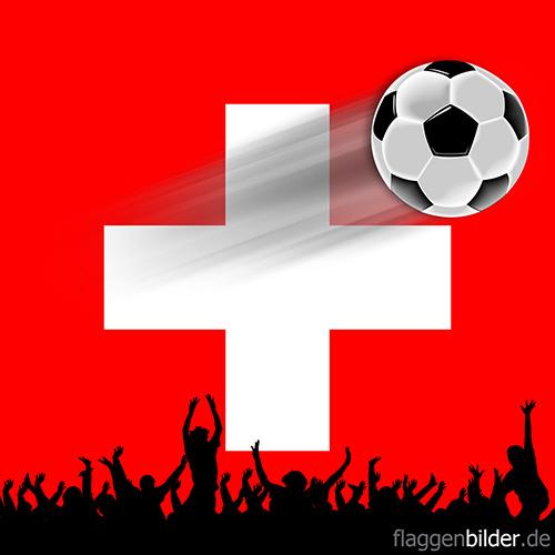 schweiz_fussball-fans.jpg von 123gif.de Download & Grußkartenversand