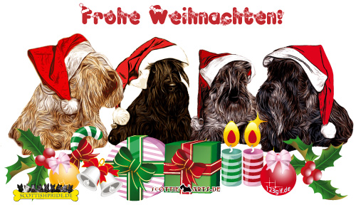 weihnachtsgr e bild scottish terrier kostenlos. Black Bedroom Furniture Sets. Home Design Ideas