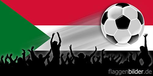 sudan_fussball-fans.jpg von 123gif.de Download & Grußkartenversand