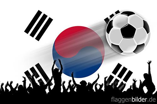 suedkorea_fussball-fans.jpg von 123gif.de Download & Grußkartenversand