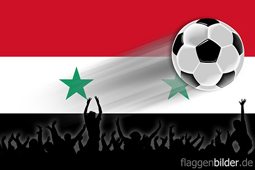 syrien_fussball-fans.jpg von 123gif.de Download & Grußkartenversand