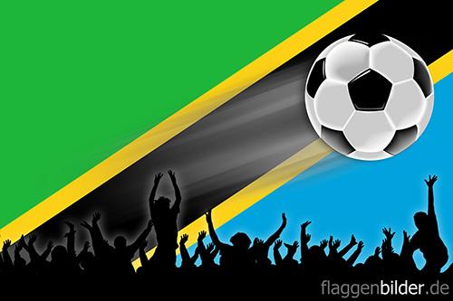 tansania_fussball-fans.jpg von 123gif.de Download & Grußkartenversand