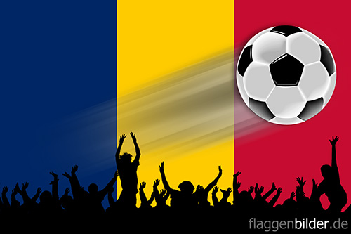 tschad_fussball-fans.jpg von 123gif.de Download & Grußkartenversand