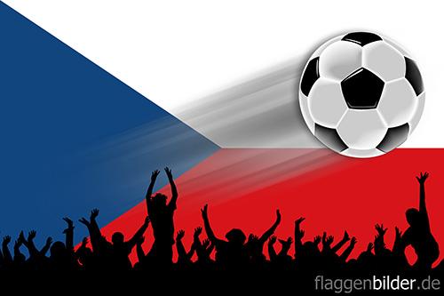 tschechien_fussball-fans.jpg von 123gif.de Download & Grußkartenversand
