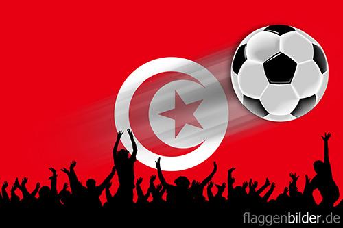 tunesien_fussball-fans.jpg von 123gif.de Download & Grußkartenversand