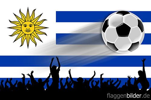 uruguay_fussball-fans.jpg von 123gif.de Download & Grußkartenversand