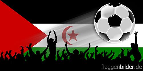 westsahara_fussball-fans.jpg von 123gif.de Download & Grußkartenversand
