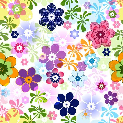 Fruehlings-Blumen