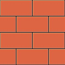 Mauer rot